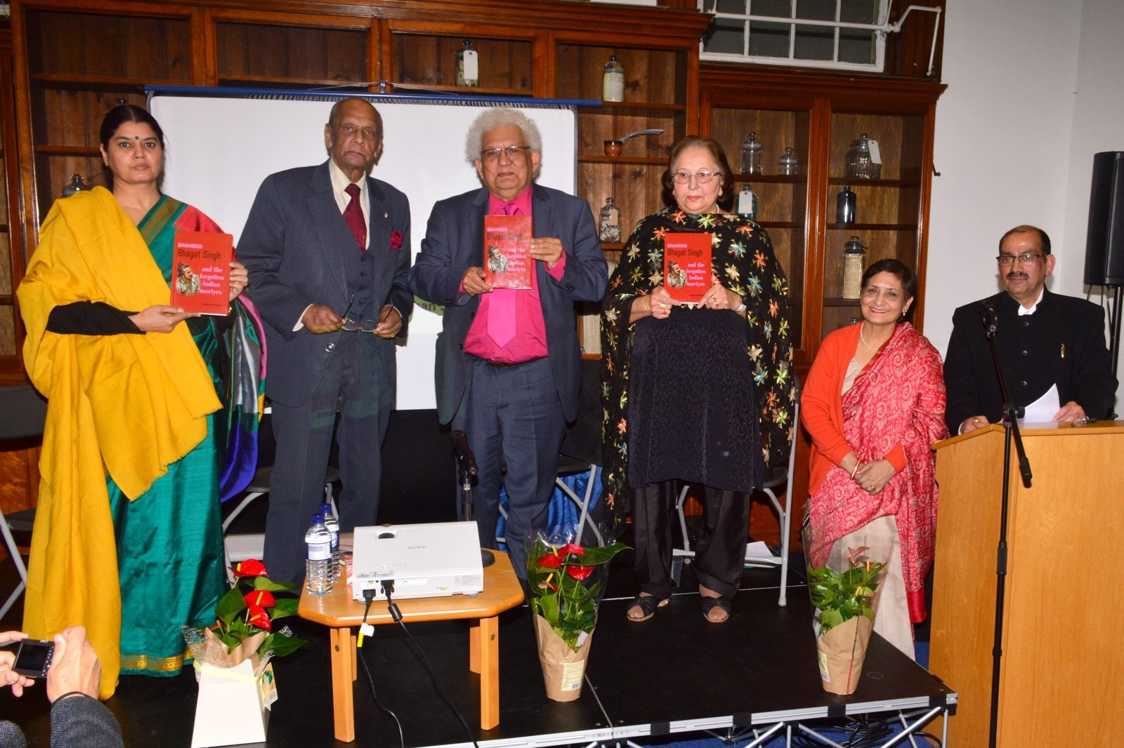 Vatayan Commemorates Shaheed Bhagat Singh at Keats House – Divya Mathur