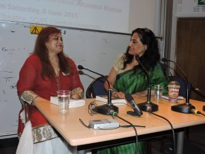 Sangeeta in conversation with