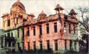 Jaffna Public library-burnt down in 1981