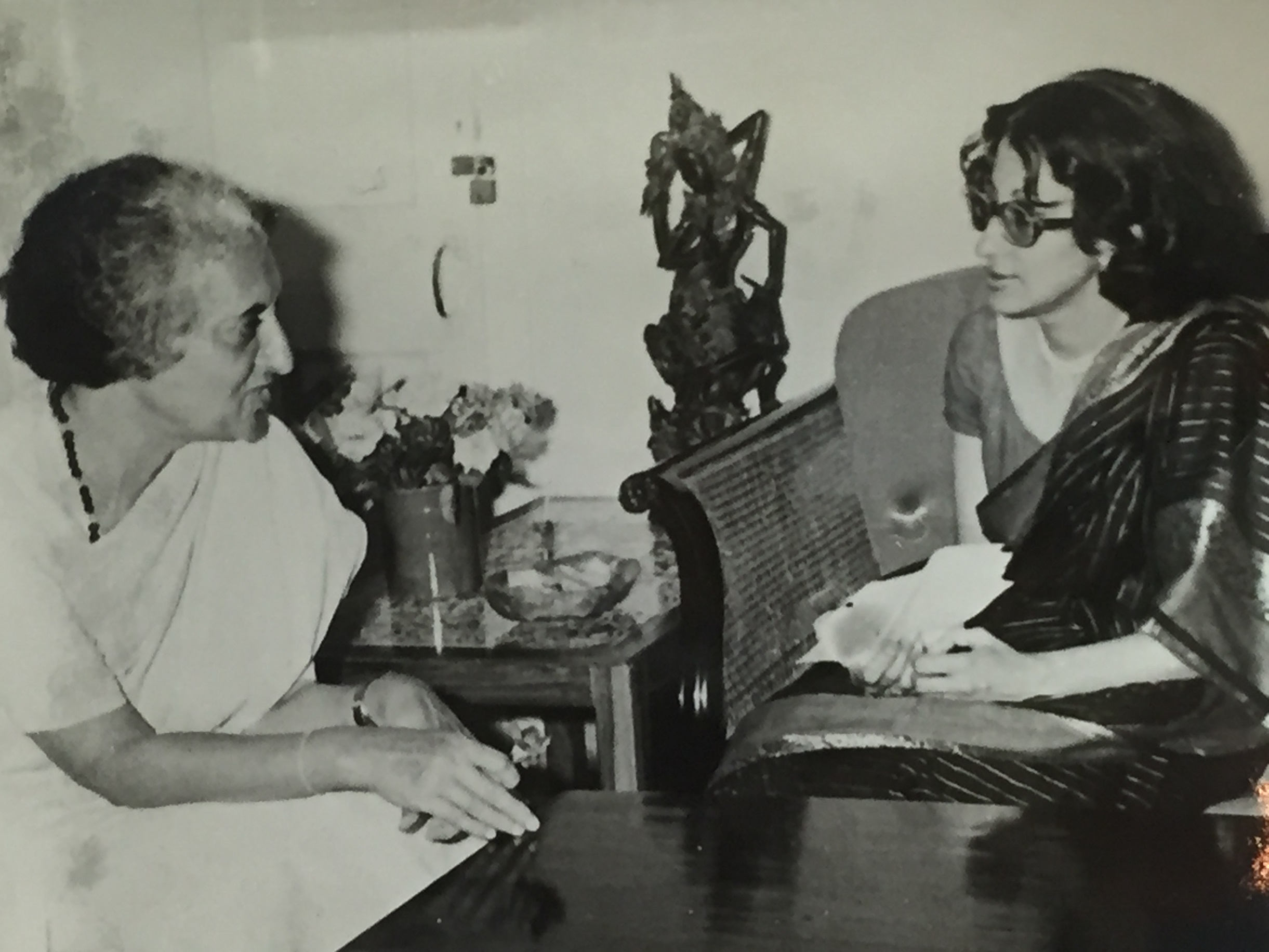 Face to face with Mrs. Gandhi, August, 1978 – Malathy Sitaram
