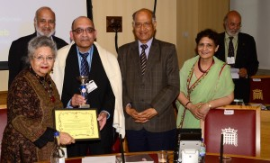Yogesh Patel awarded