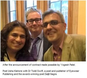 Contract for Usha Kishore announced at the House of Lords
