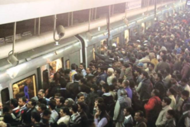 Metro Travel; A short fiction by Subhash Chandra